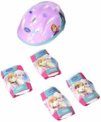 Frozen Kids Activities Helmet/knee And Elbow Pads Protection Set Small/x-Small