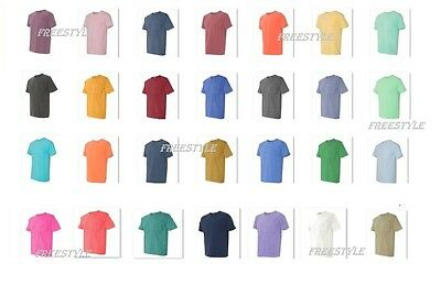 Comfort Colors 6030 Mens Pigment Short Sleeve Shirt with Pocket Tee S-3XL 6030CC