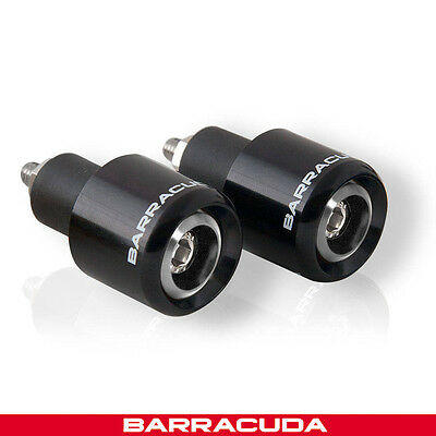 Barracuda - Bar Ends - Black - Universal Fit - Yamaha XJR1300