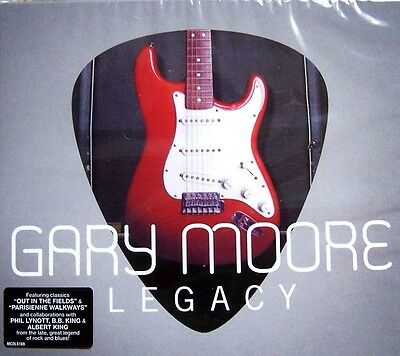 GARY MOORE ~ Legacy (BEST OF/GREATEST HITS) BRAND NEW SEALED 2CD IN SLIPCASE