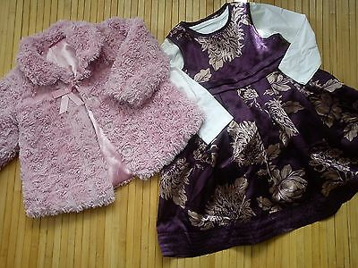 32x WINTER NEW USED BUNDLE OUTFITS BABY GIRL 12/18 MTHS PHOTOS IN DESCRIPTION(5)