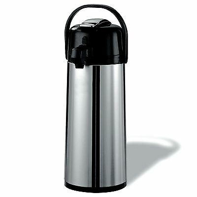 Daily Chef Stainless Steel 2.2 L Airpot w/Lever  *** NEW ***