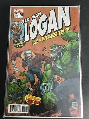 Old Man Logan #25 1:10 Grummett Hulk #181 Homage Variant New Nm Unread
