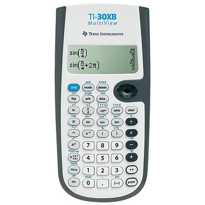 Texas INstruments 30XB multivue Calculatrice Scientifique Neuf Ru