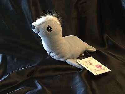 Precious Moments Tender Tails Grey Seal Special Easter Seals Limited Edition