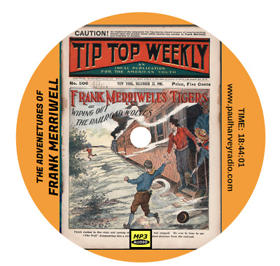Frank Merriwell (40 Shows) Old Time Radio Mp3 Cd