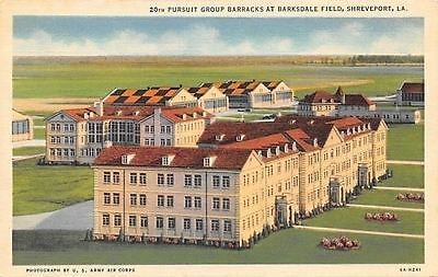 Shreveport~US Army Air Corps~Barksdale Field AFB~20th Pursuit Group Barracks~'36