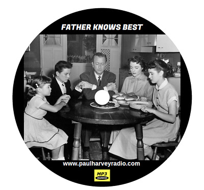 Father Knows Best (115 Shows) Old Time Radio Mp3 2-Cd's