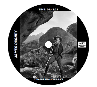 James Cagney Collection (9 Shows) Old Time Radio Mp3 Cd