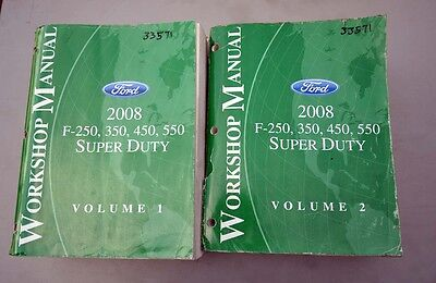 2008 Ford F-Series Workshop Manuals (Inv.33571)