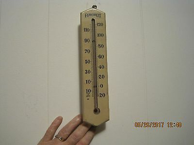 Antique / Vintage  Fahrenheit Thermometer!    10 Inches