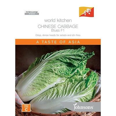 Johnsons Chinese Cabbage Blue Seeds
