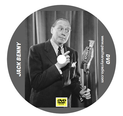 Jack Benny (914 Shows) Otr Mp3 2 Dvd's