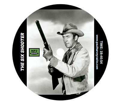 Six Shooter (41 Shows) Old Time Radio Mp3 Cd