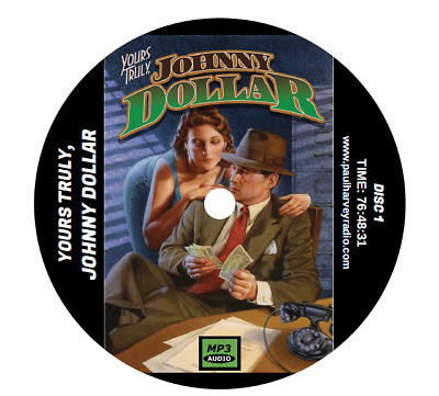 Yours Truly, Johnny Dollar (610 Shows) Otr Mp3 3-Cd's