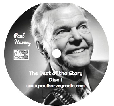 Paul Harvey - 'the Rest Of The Story' (243 Shows) Otr 13 Audio Cd's
