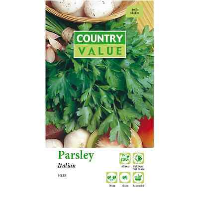 Country Value Italian Parsley Seeds