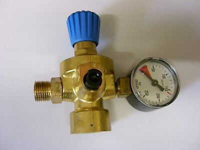 Oxygen Regulator with gauge for all Oxyturbo & Bernzomatic Welding Kits E501