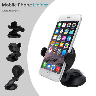 360° Universal Car GPS PDA Mobile Holder Mount Windscreen Dashboard For Iphone 7