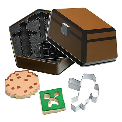 Minecraft Cookie Cutters - Loot - BRAND NEW