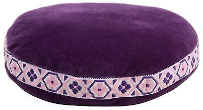 Cussion For Tibetan Singing Bowls 10Cm Hand Drum Percussion Accessories Purple