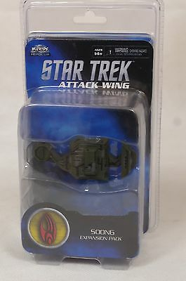 Star Trek Attack Wing Soong Expansion Pack Nib Wizkids Model