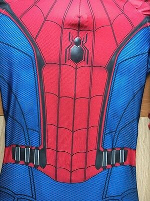 Amazing Spider-Man Homecoming Costume 3D Print Halloween Cosplay Suit Adult/Kids