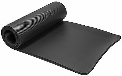 15Mm Thick Nbr Pvc Yoga Mat Non Slip Exercise Fitmess Pilates Gym Phsio  Carrier