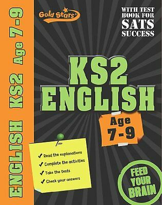 Gold Stars: KS2 Workbooks Age 7-9 English (Key Stage 2 Gold Stars) By Gold Star