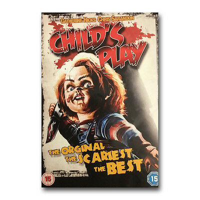 Chucky Child's Play Classic Horror Movie Art Silk Poster Print 12x18 24x36 inch
