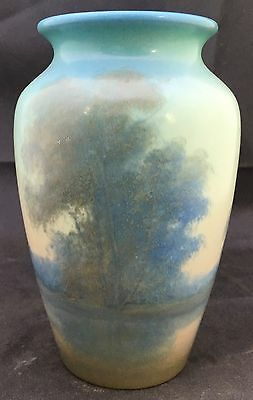 Rookwood Ed Diers Scenic Cabinet Vase