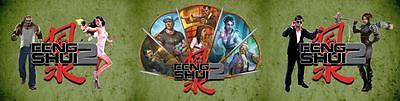 A Fistful Of Fight Scenes Feng Shui 2 Game Masters Screen - Book