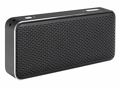 Xqisit XQ S20 Bluetooth Mini Speaker With Integrated Power Bank - Black