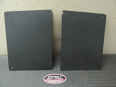 1968 69 70 71 72 El Camino Rear Bedside Inspection Panel Covers Plates