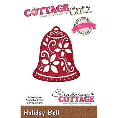 "CottageCutz Elites Die Holiday Bell 1.9x2.3"" Stanzschablone Glöckchen 5x6 cm"