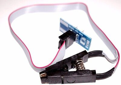 SOIC 8 DIP 8 Pin IC Cable Programing Test Clip