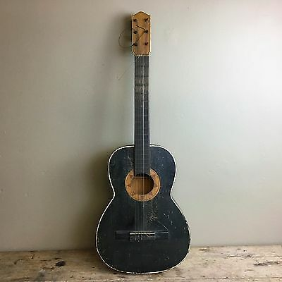 Antique Blues Guitar From The 'deep South' - Nice History - Acoustic - Folk Art