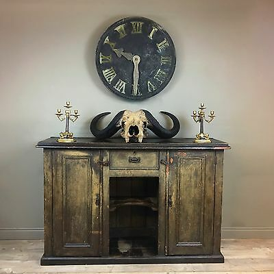 Large Distressed Early 19Th Century Dresser Sideboard Victorian Georgian Painted