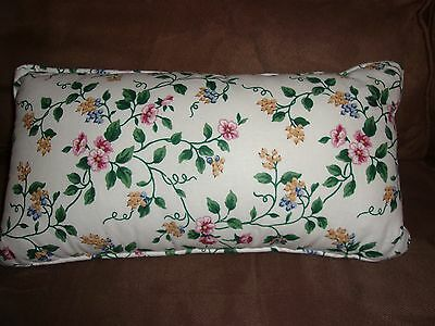 Longaberger White Vine Accent Pillow