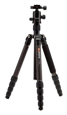 MeFOTO GlobeTrotter Carbon Fiber Travel Tripod Kit (Black) - C2350Q2K