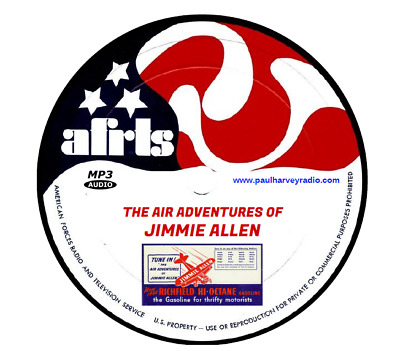 Air Adventures Of Jimmie Allen (130 Shows) Old Time Radio Mp3 Cd