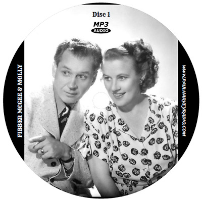 Fibber Mcgee & Molly (680 Shows) Old Time Radio Mp3 6-Cd's
