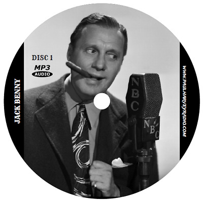 Jack Benny (914 Shows) Old Time Radio Mp3 9 Cd's