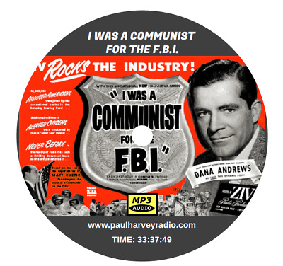 I Was A Communist For The Fbi (75 Shows) Old Time Radio Mp3 Cd