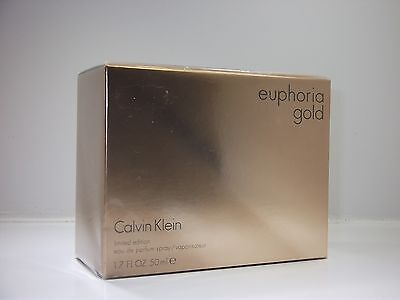 Euphoria Gold by Calvin Klein EDP Eau de Parfum Spray 50 ml, 100%Original/ Ovp