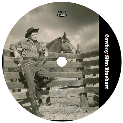Cowboy Slim Rinehart (Country Music) (20 Shows) Otr Mp3 Cd