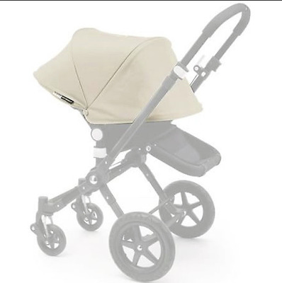 Bugaboo cameleon3 Tailored Fabric Extendable Sun CanopyUPF50+ Off White Preowned