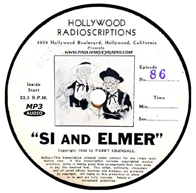 Misadventures Of Si And Elmer (61 Shows) Old Time Radio Mp3 Cd