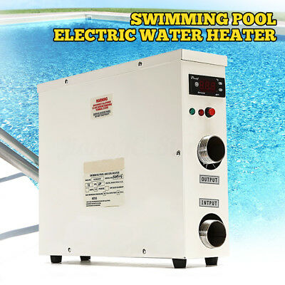 5.5KW 220V Swimming Pool & Bath SPA Hot Tub Electric Water Heater Thermostat AU