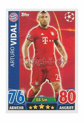 TOPPS Champions League - 174 - Arturo Vidal - Base Card